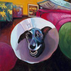 Dog with a Battered Halo